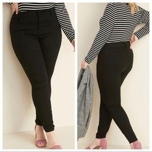 Old Navy black rockstar 24/7 jeans